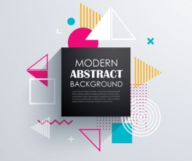 Vector modern abstract background material 05