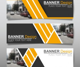Vector set of modern banners template design 13