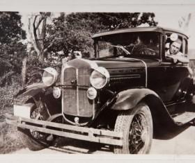 Vintage car Stock Photo 02