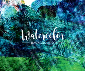 Watecolor textured background vector 05