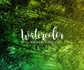 Watecolor textured background vector 07