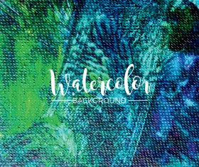 Watecolor textured background vector 08