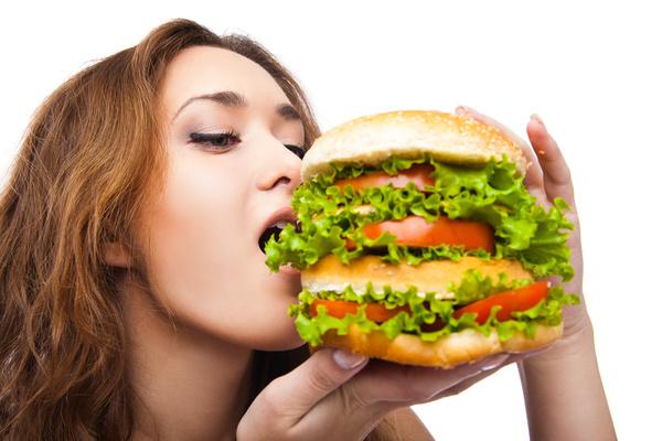 Woman Eating Hamburger Stock Photo 10 Food Stock Photo