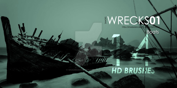 Wreck Photoshop Brushes