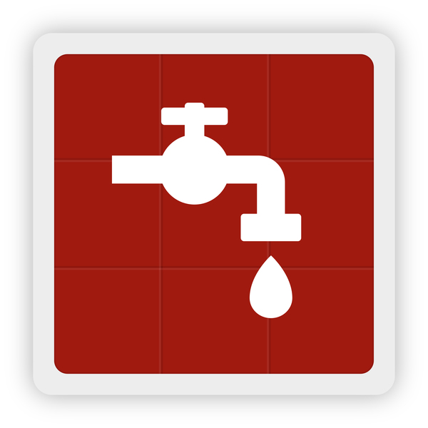 conserve water icon vector