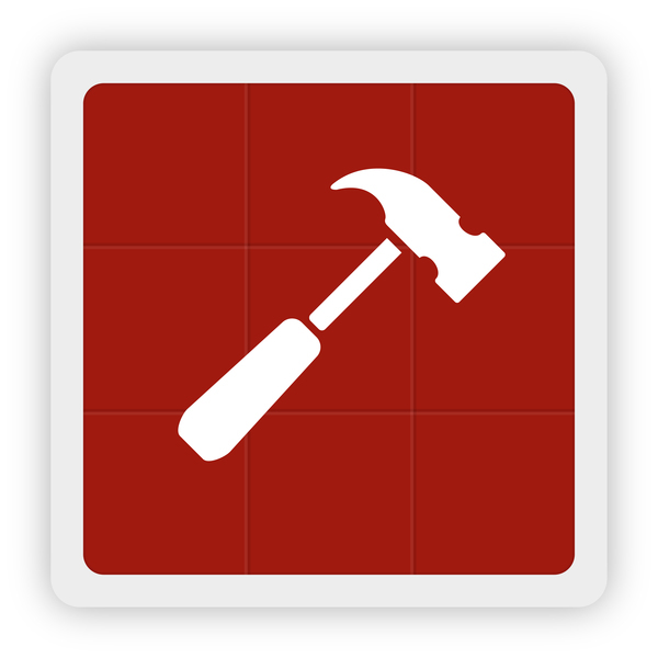 hammer icon vector