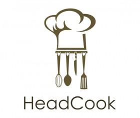 headcook logo vector