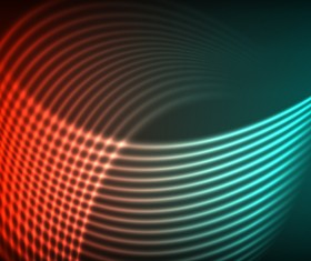 neon background abstract lines vector