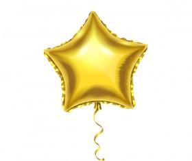 star balloon vector illustration