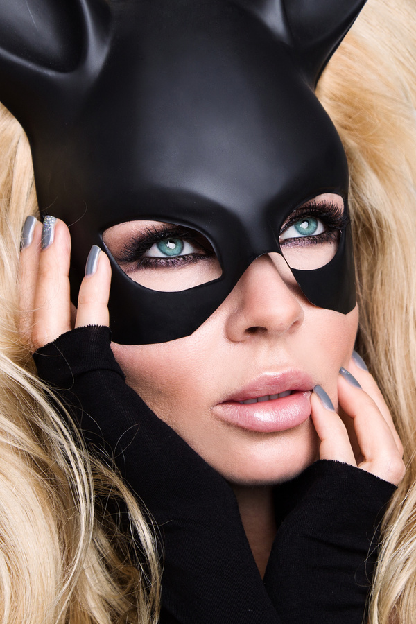 woman with a mask Stock Photo 10