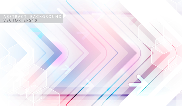 Abstract technology background geometric vector design free