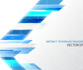 Abstract technology triangle shape vector background