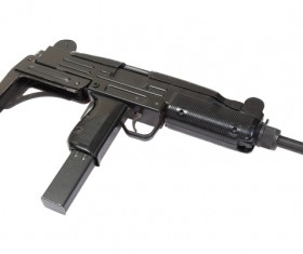 Automatic weapon Stock Photo 20