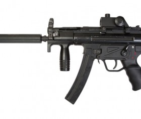 Automatic weapon Stock Photo 22