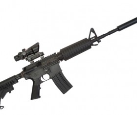 Automatic weapon Stock Photo 23