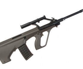 Automatic weapon Stock Photo 24