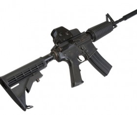 Automatic weapon Stock Photo 25