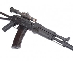 Automatic weapon Stock Photo 26