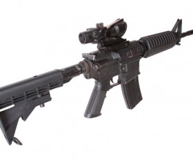 Automatic weapon Stock Photo 27