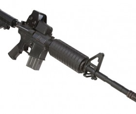 Automatic weapon Stock Photo 28