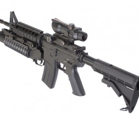 Automatic weapon Stock Photo 29