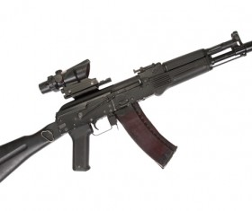 Automatic weapon Stock Photo 30
