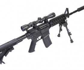 Automatic weapon Stock Photo 31