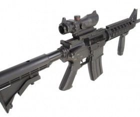 Automatic weapon Stock Photo 33