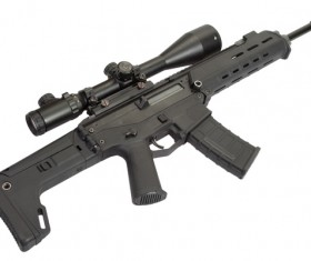 Automatic weapon Stock Photo 34