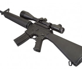 Automatic weapon Stock Photo 37