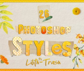 Free Photoshop Styles free download, 76 Photoshop Styles