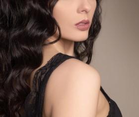 Beautiful and charming woman Stock Photo 01