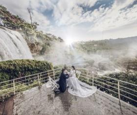 Beautiful creative wedding Stock Photo