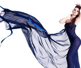 Beautiful fashion model Stock Photo 02