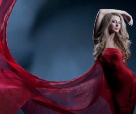 Beautiful fashion model Stock Photo 05