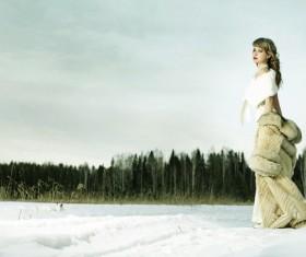 Beautiful fashion model Stock Photo 06