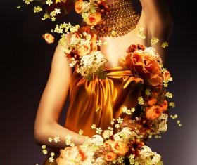 Beautiful fashion model Stock Photo 07