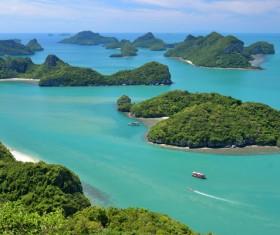 Beautiful ocean island Stock Photo 09