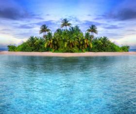 Beautiful ocean island Stock Photo 10