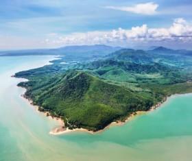 Beautiful ocean island Stock Photo 11