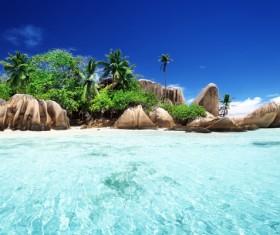 Beautiful ocean island Stock Photo 12