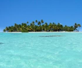 Beautiful ocean island Stock Photo 13