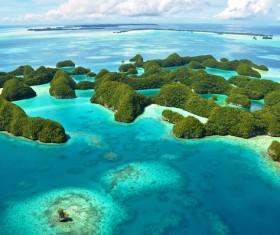 Beautiful ocean island Stock Photo 15