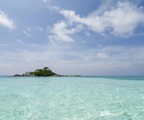 Beautiful ocean island Stock Photo 19
