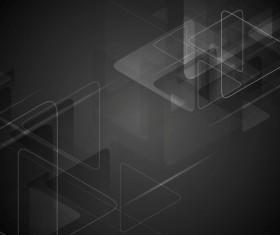 Black triangles design vector background