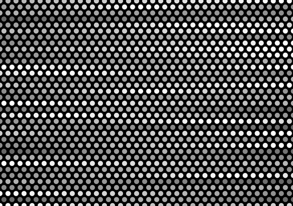 Black with grey circles vector background