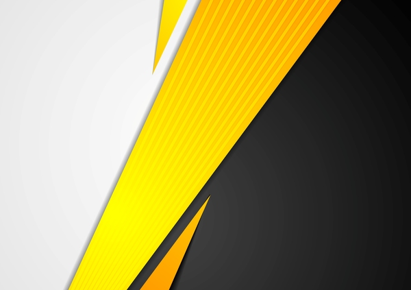 Black with orange stripe vector background