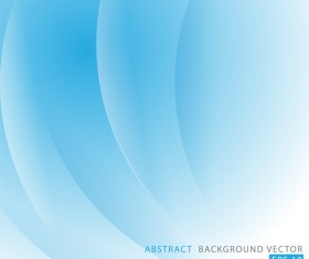 Blue abstract curve line concept vector background