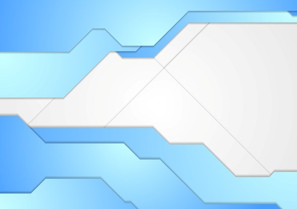Blue grey corp vector background