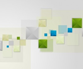 Bright squares modern background vector